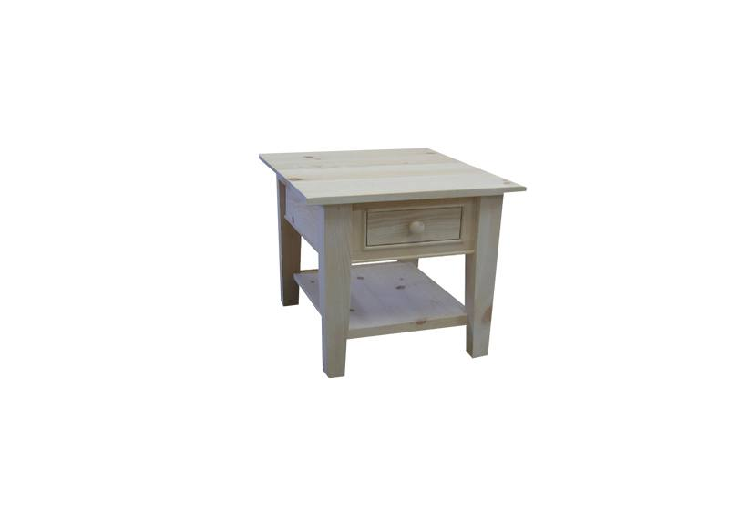 solid wood A-Series end Table