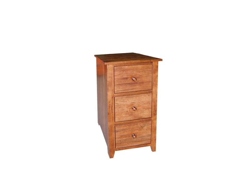 solid wood handcrafted A-Series File Cabinet-02