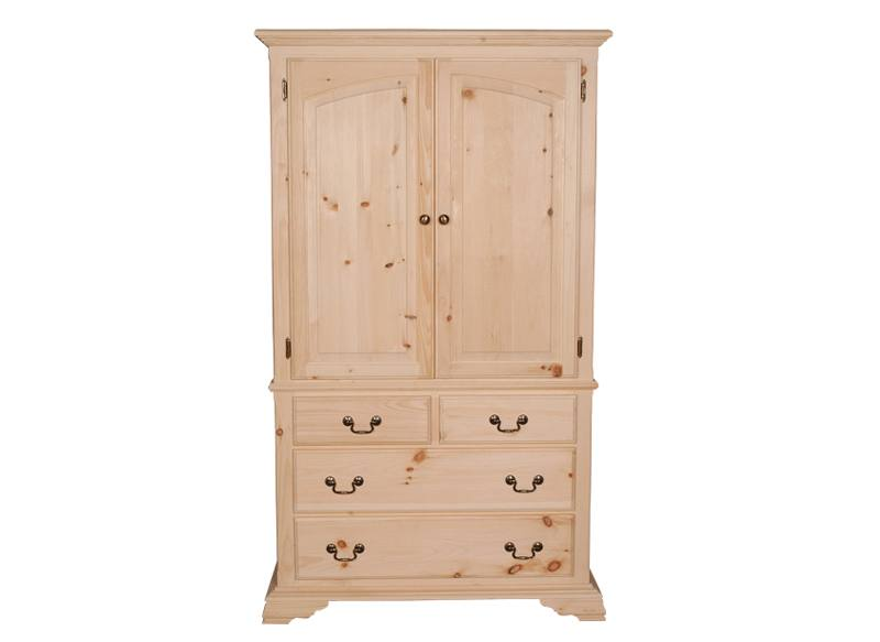 solid wood kennaway armoire-wardrobe-handcrafted