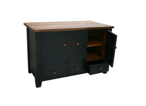 solid wood handcrafted Dakota Bar, Kitchen Island-02