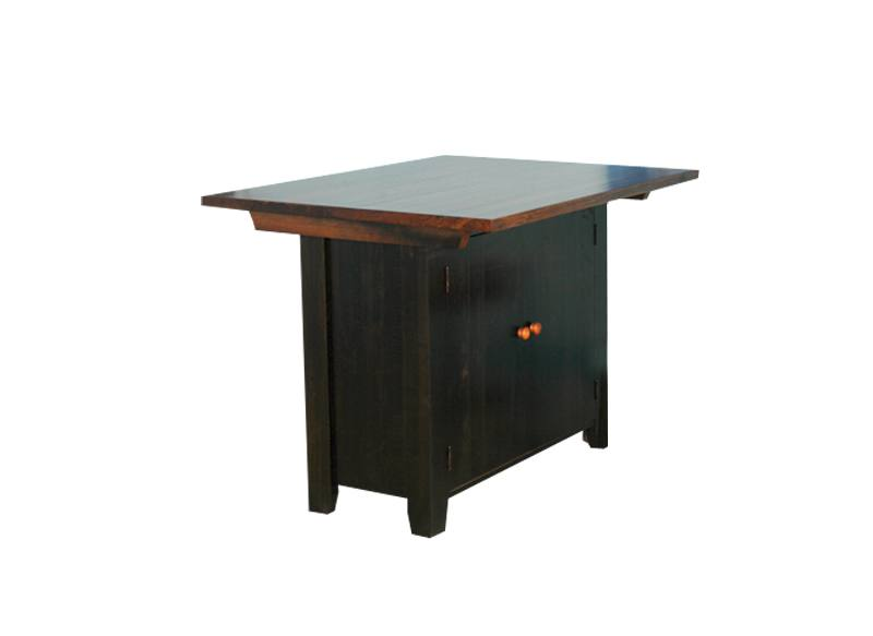 solid wood handcrafted Dakota Bar, Kitchen Island-01