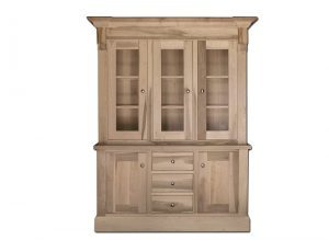 solid wood brentwood buffet and hutch-01