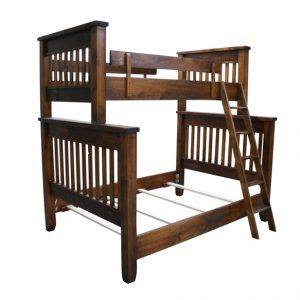 Solid Wood-Bunk Bed-handcrafted