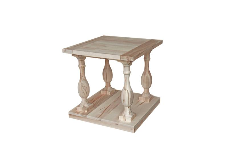 Century solid wood end table