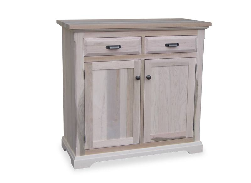 solid wood Chateau Buffet and Hutch-07