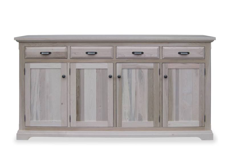 solid wood Chateau Buffet and Hutch-09