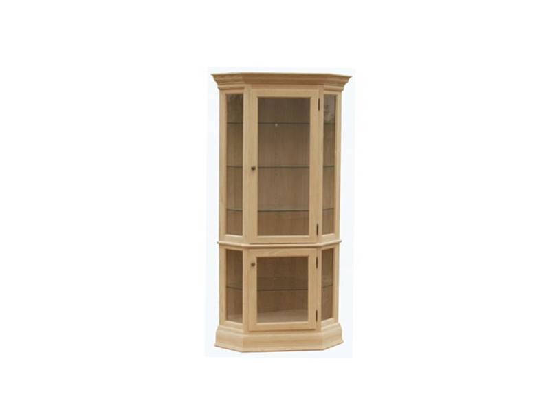 solid wood handcrafted Legacy Curio