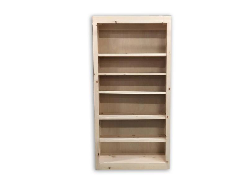 solid wood handcrafted econo bookcase