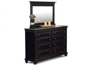 solid wood Florentino Bedroom Set-dresser
