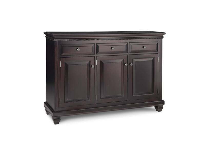 solid wood Florentine Buffet and Hutch -handcrafted-01