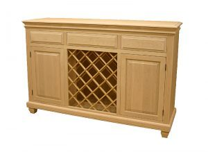 solid wood Florentine Buffet and Hutch -handcrafted-06