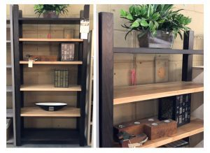 Indutrial solid wood bookcase-handcrafted-03