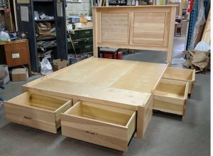 solid wood storage bed-06