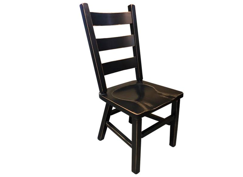 ladder back chair-solid wood-handcrafted