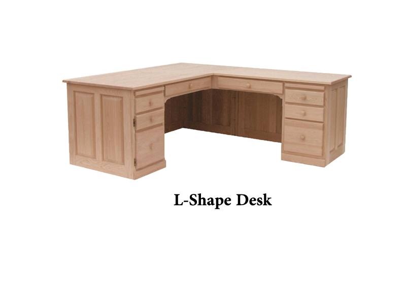 solid wood Country Corner Desk02