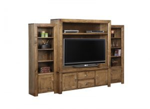 metro TV Wall Unit-solid wood entertainment unit