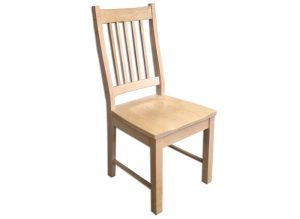 Mini Mission Chair-solid wood-handcrafted