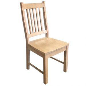 Mini Mission Solid Wood Chair-handcrafted