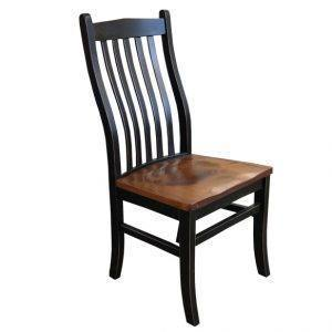 mini contour dining chair-handcrafted- solid wood