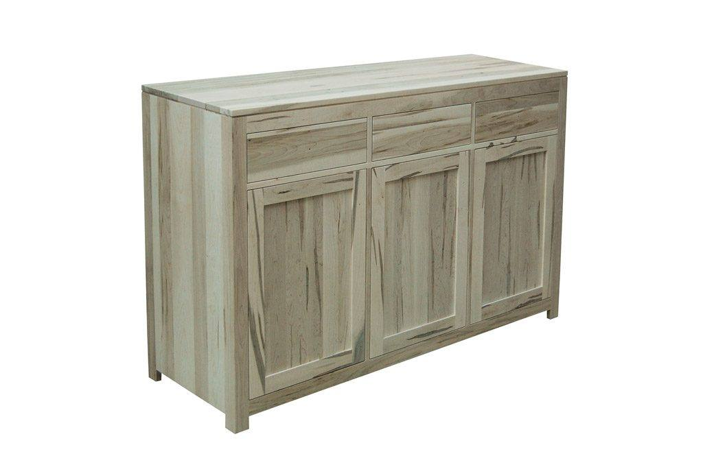 solid wood newport Modern Buffet and Hutch-handcrafted-06
