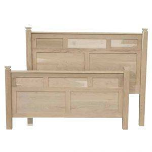 solid wood-Newport modern bed
