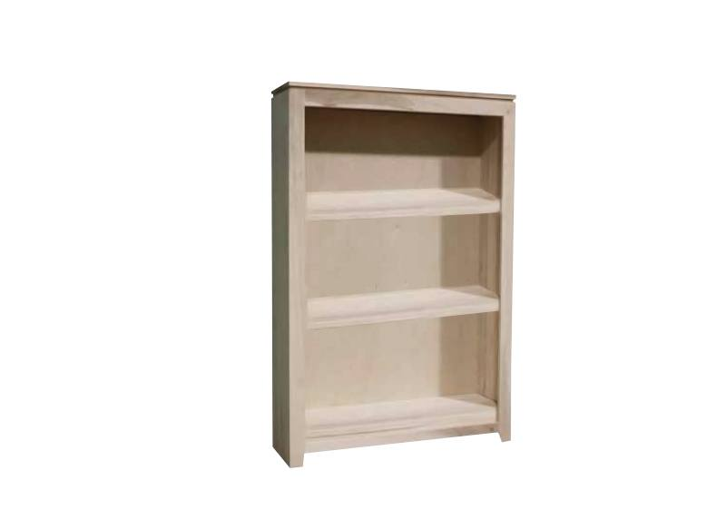 solid wood handcrafted newport modern bookcase