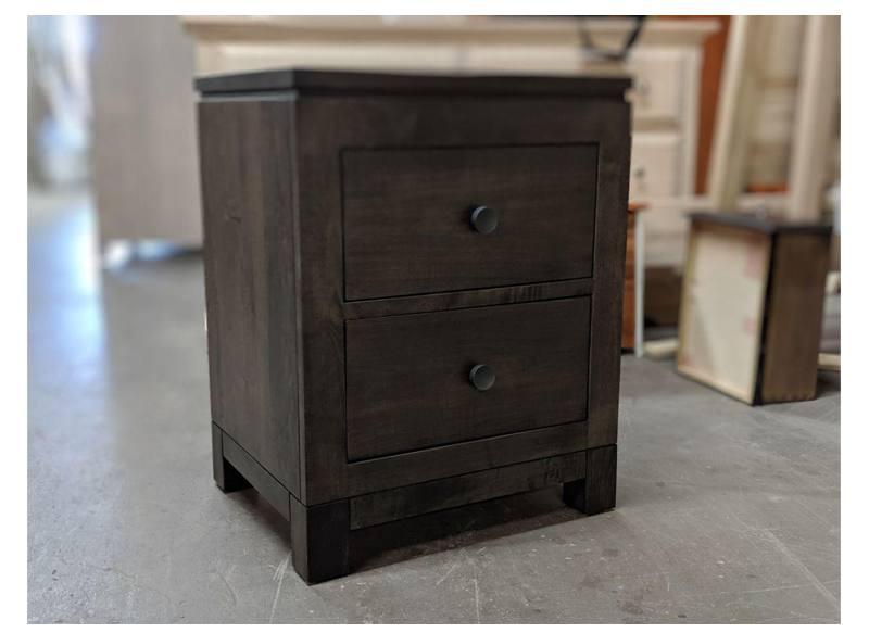 newport modern bedroom case-solid wood nightstand-02