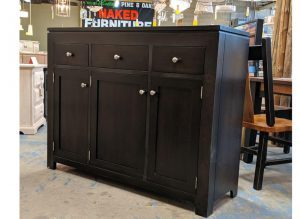 solid wood newport Modern Buffet and Hutch-handcrafted-07