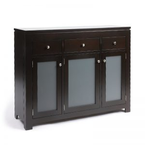 solid wood newport Modern Buffet and Hutch-handcrafted-05
