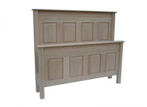 Rivival solid wood bed-handcrafted