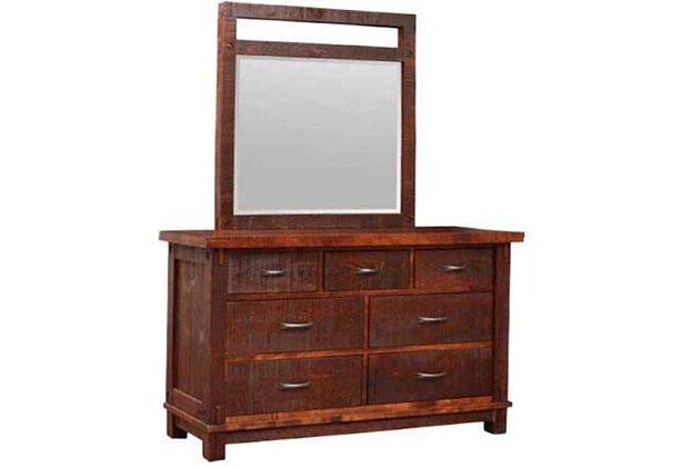 Timber Rustic Bedroom Set -solid wood dreeser-01