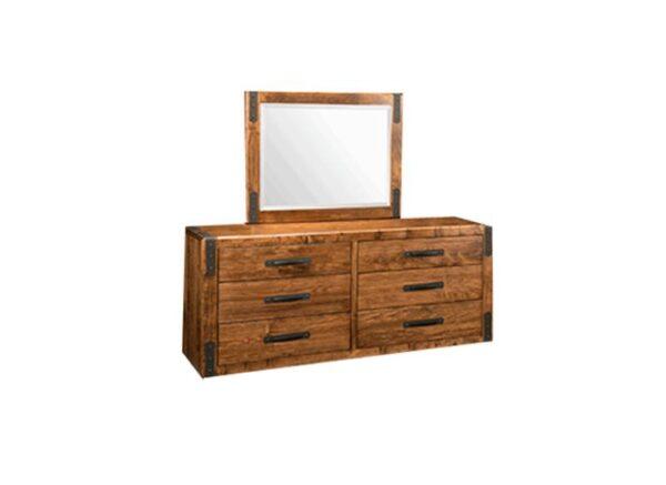 Union Station Bedroom Furniture-solid wood dresser-01