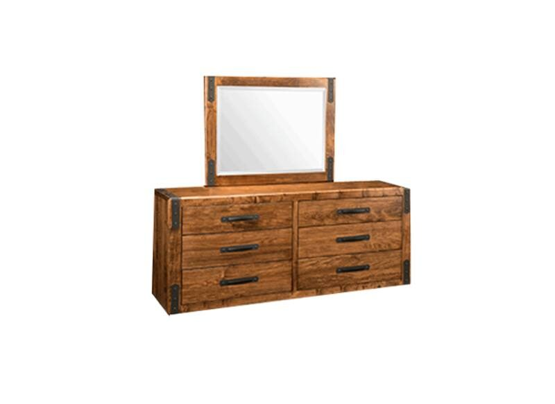 Union Station Bedroom Furniture-solid wood dresser-01