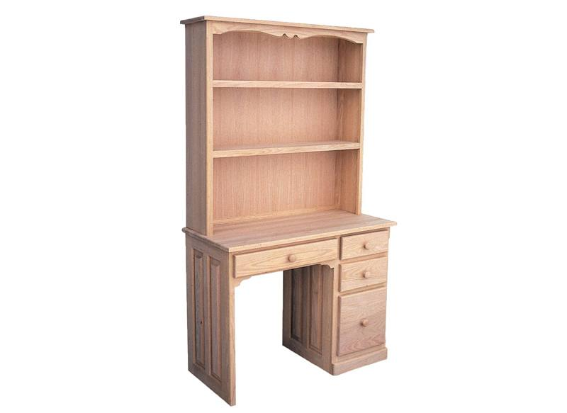 solid wood Student Desk and Hutch