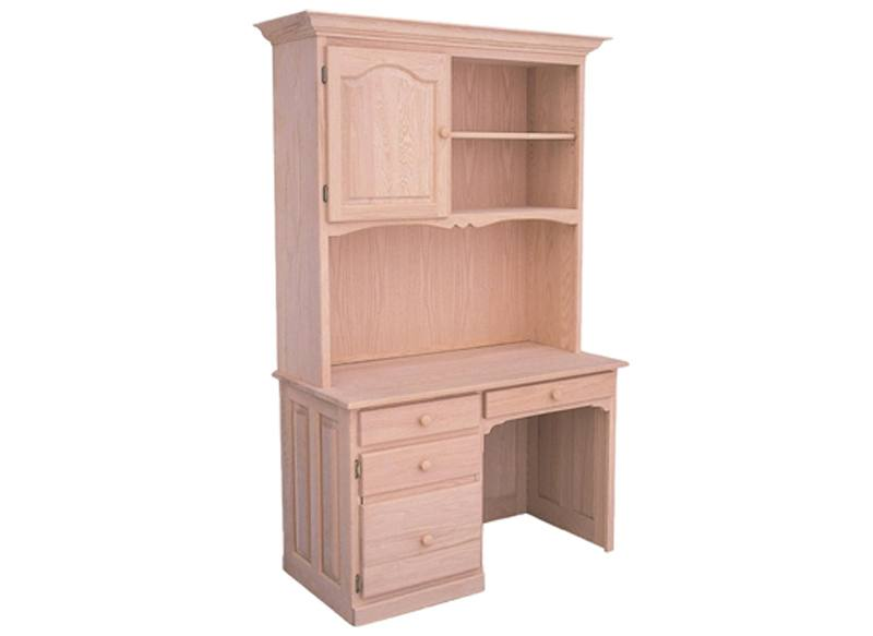 solid wood Office Desk and Hutch