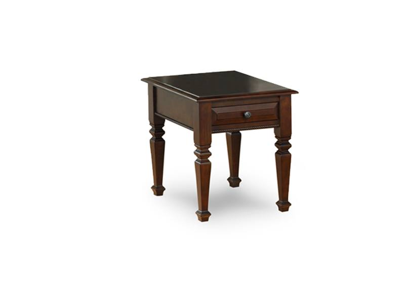 solid wood Florentino end Table,