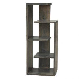 handcrafted solid wood modern bookcase