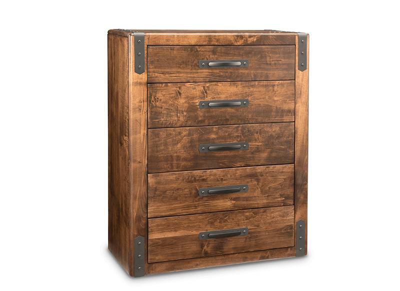 Union Station Bedroom Furniture-solid wood chest-01