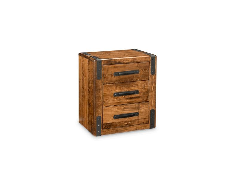 Union Station Bedroom Furniture-solid wood nightstand-01