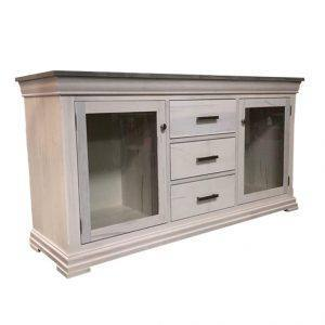 solid wood Manhattan TV table-entertainment unit