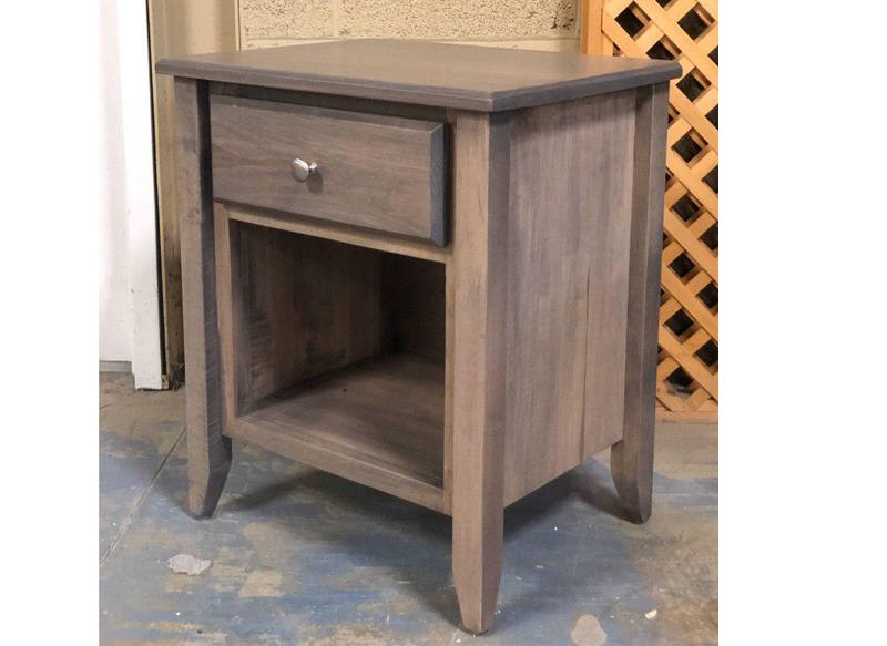 Thornbery Bedroom Case -solid wood nightstand-02