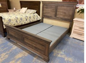 Solid wood storage bed-Manhattan bed-04