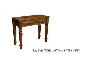 solid wood Florentino sofa Table,