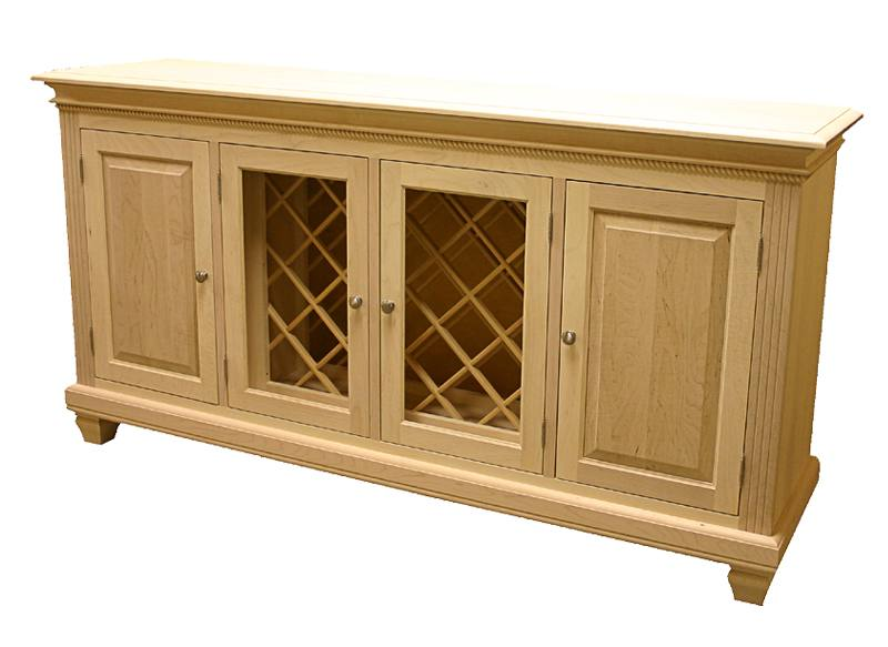 solid wood Florentine Buffet and Hutch -handcrafted-05