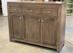 solid wood newport Modern Buffet and Hutch-handcrafted-02