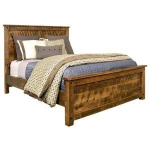 solidAdirondack Solid Wood Bed