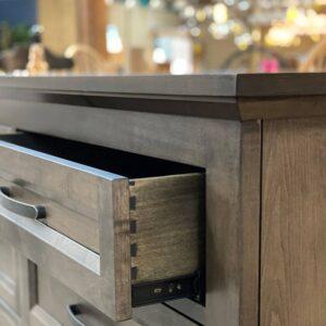 Algonquin Bedroom Set-solid wood dresser-04