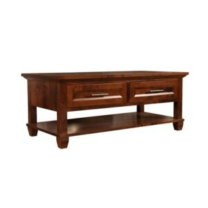 Algonquin solid wood coffee table-01