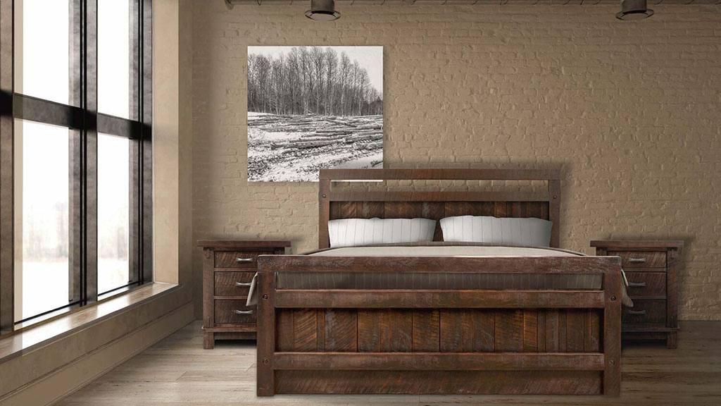 Bedroom furniture-bed-nightstand-dresser