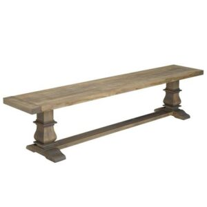 Solid Wood Custom0 Bench-Black Sea Handcrafted Bench